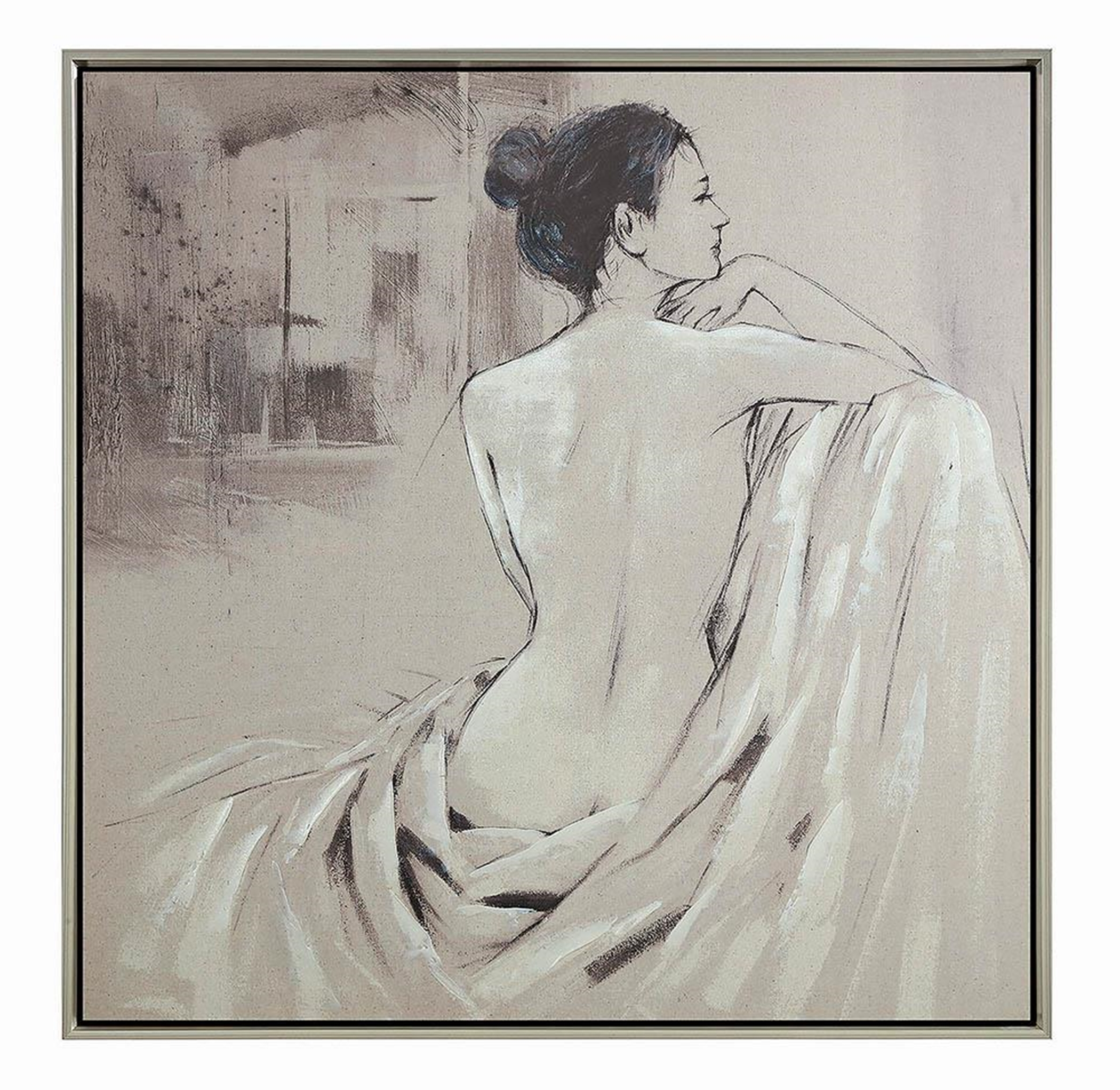 Nude Transitional Wall Art